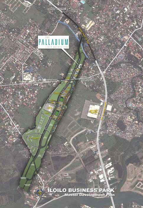 The Palladium on Map
