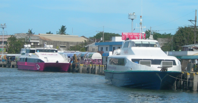 Fast Craft Ferries from Iloilo to Bacolod and vice-versa
