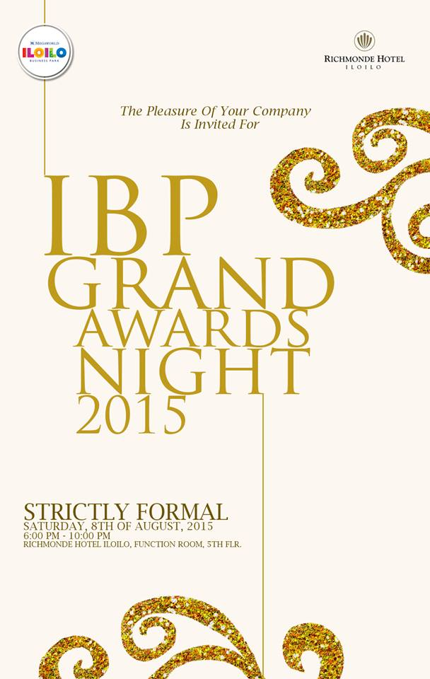 The Annual Iloilo Business Park Grand Awards Night gave recognition to the best performing IBP consultants and staff.